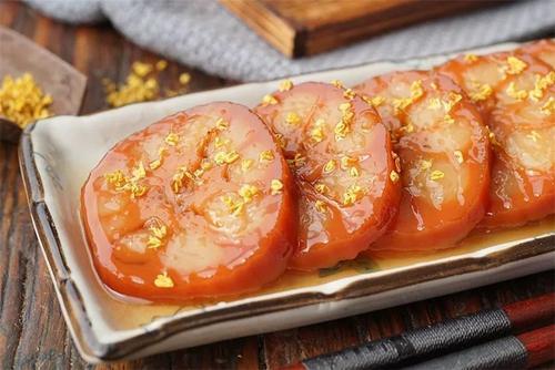 江苏食堂承包推荐桂花糖藕的做法大全
