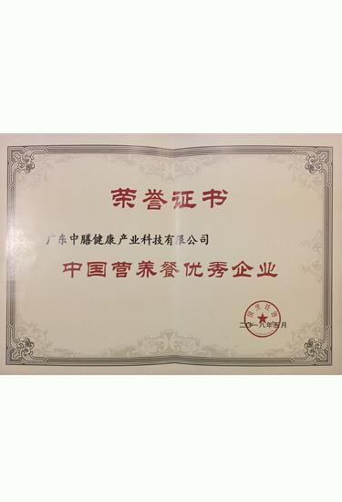 中国营养餐优秀企业
